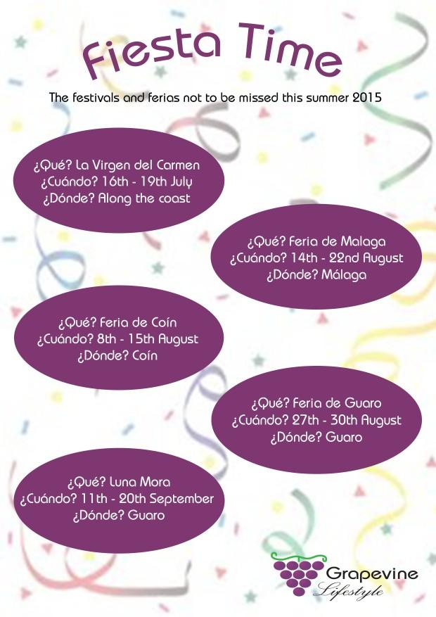Feria Calendar 2015